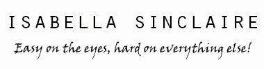 The official site for Isabella Sinclaire